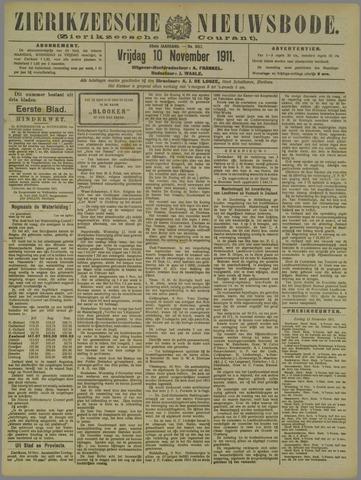 Zierikzeesche Nieuwsbode 1911-11-10