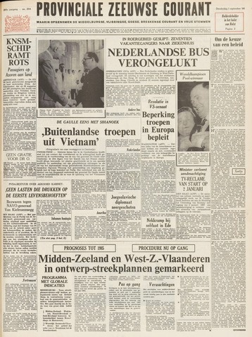 Provinciale Zeeuwse Courant 1966-09-01