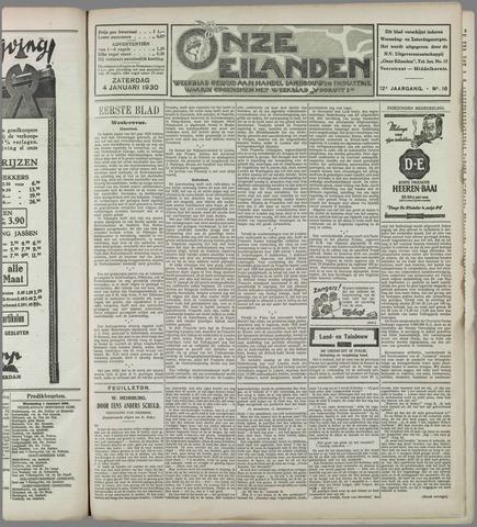 Onze Eilanden 1930