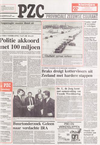 Provinciale Zeeuwse Courant 1988-11-22