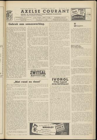 Axelsche Courant 1954-07-10