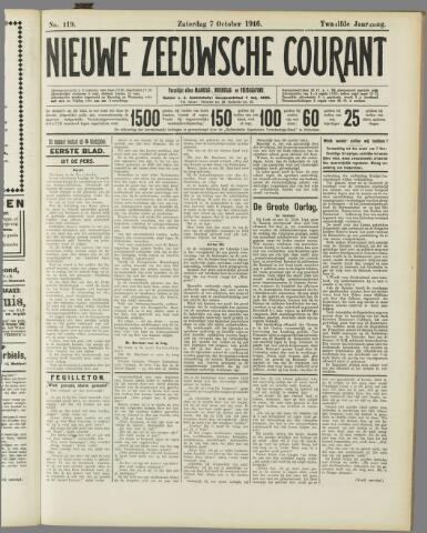Nieuwe Zeeuwsche Courant 1916-10-07