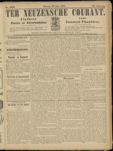 Ter Neuzensche Courant. Algemeen Nieuws- en Advertentieblad voor Zeeuwsch-Vlaanderen / Neuzensche Courant ... (idem) / (Algemeen) nieuws en advertentieblad voor Zeeuwsch-Vlaanderen 1898-06-28