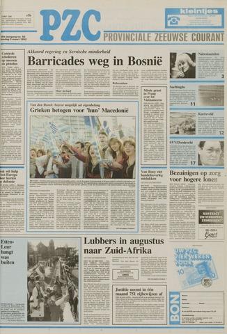 Provinciale Zeeuwse Courant 1992-03-03