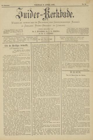 Zuider Kerkbode, Weekblad gewijd aan de belangen der gereformeerde kerken in Zeeland, Noord-Brabant en Limburg. 1897-04-09