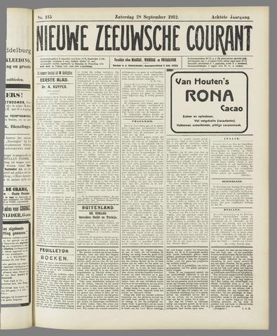 Nieuwe Zeeuwsche Courant 1912-09-28