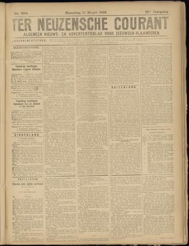 Ter Neuzensche Courant. Algemeen Nieuws- en Advertentieblad voor Zeeuwsch-Vlaanderen / Neuzensche Courant ... (idem) / (Algemeen) nieuws en advertentieblad voor Zeeuwsch-Vlaanderen 1928-03-12