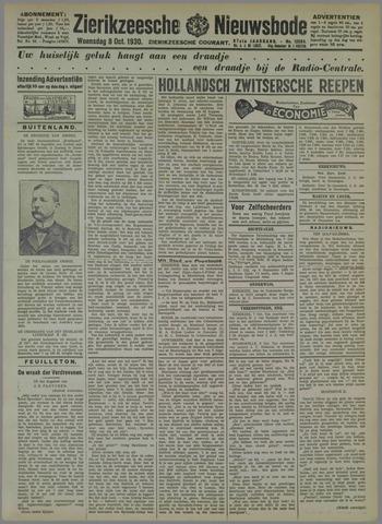 Zierikzeesche Nieuwsbode 1930-10-08