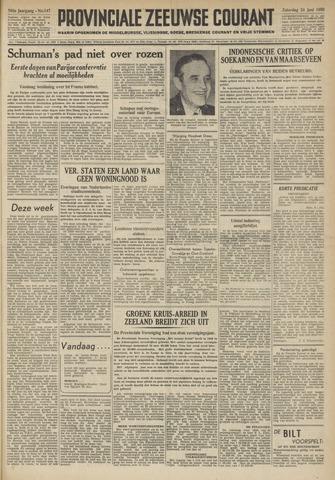 Provinciale Zeeuwse Courant 1950-06-24