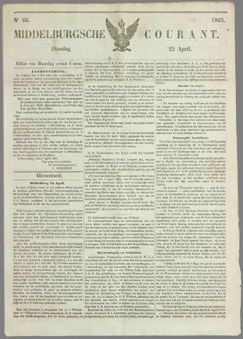 Middelburgsche Courant 1865-04-25