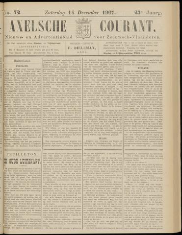 Axelsche Courant 1907-12-14