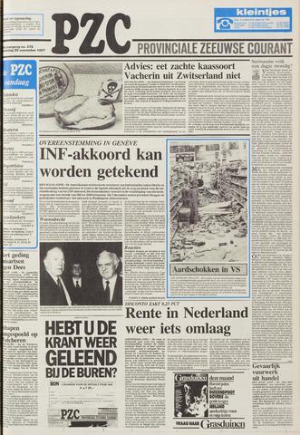 Provinciale Zeeuwse Courant 1987-11-25