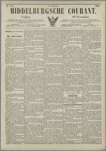 Middelburgsche Courant 1895-11-22