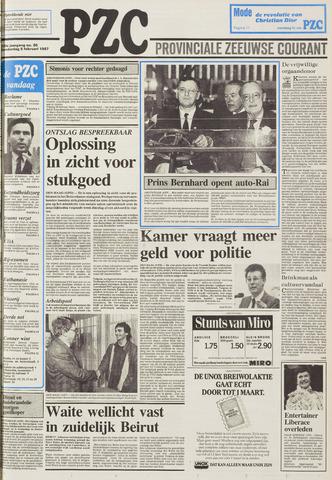 Provinciale Zeeuwse Courant 1987-02-05