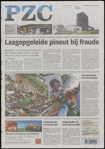 Provinciale Zeeuwse Courant 2014-01-17