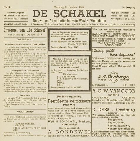 De Schakel 1945-10-08