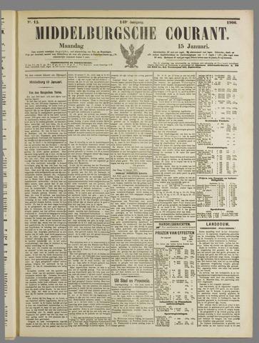 Middelburgsche Courant 1906-01-15