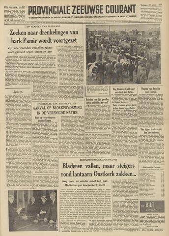 Provinciale Zeeuwse Courant 1957-09-27