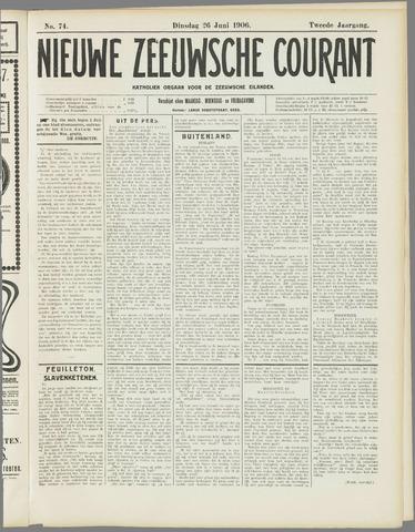 Nieuwe Zeeuwsche Courant 1906-06-26
