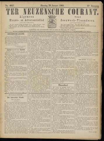 Ter Neuzensche Courant. Algemeen Nieuws- en Advertentieblad voor Zeeuwsch-Vlaanderen / Neuzensche Courant ... (idem) / (Algemeen) nieuws en advertentieblad voor Zeeuwsch-Vlaanderen 1901-01-29