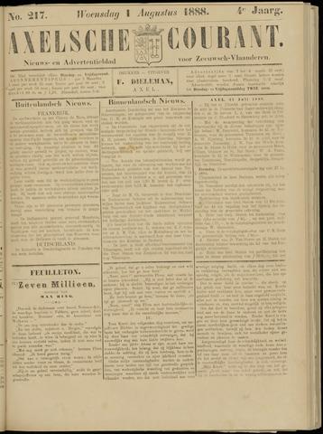 Axelsche Courant 1888-08-01