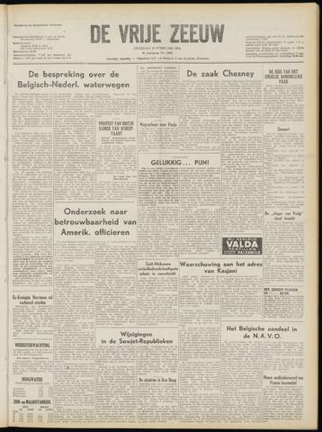 de Vrije Zeeuw 1954-02-23