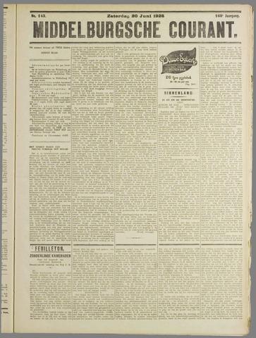 Middelburgsche Courant 1925-06-20