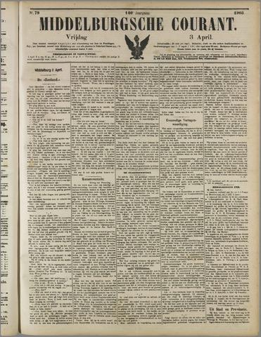 Middelburgsche Courant 1903-04-03