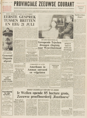 Provinciale Zeeuwse Courant 1970-06-09