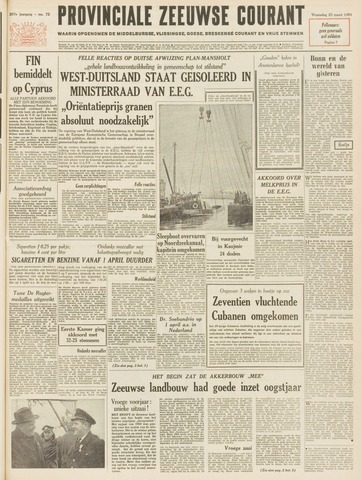 Provinciale Zeeuwse Courant 1964-03-25