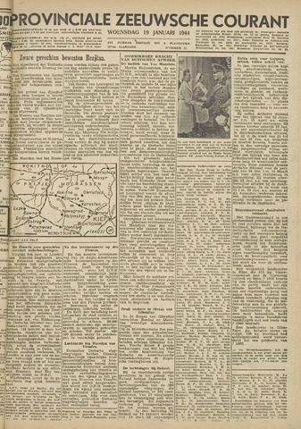 Provinciale Zeeuwse Courant 1944-01-19