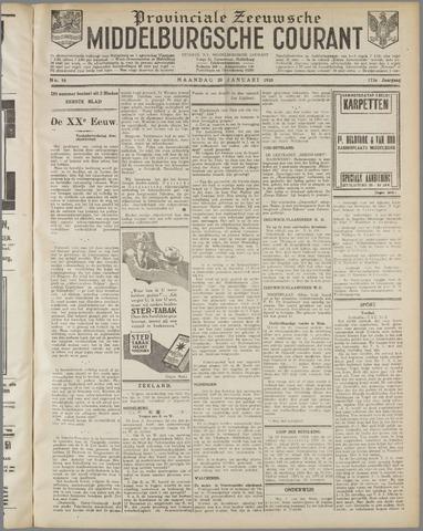 Middelburgsche Courant 1930-01-20