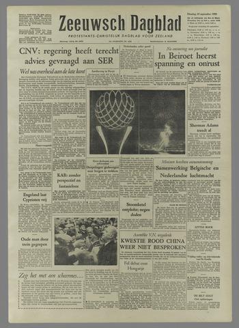 Zeeuwsch Dagblad 1958-09-23