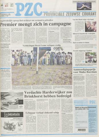 Provinciale Zeeuwse Courant 2002-05-15