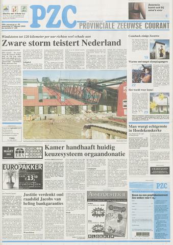 Provinciale Zeeuwse Courant 2002-02-27