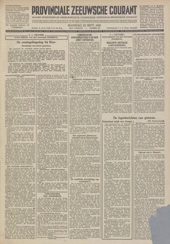 Provinciale Zeeuwse Courant 1941-09-22