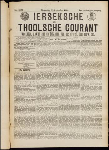 Ierseksche en Thoolsche Courant 1914-09-02