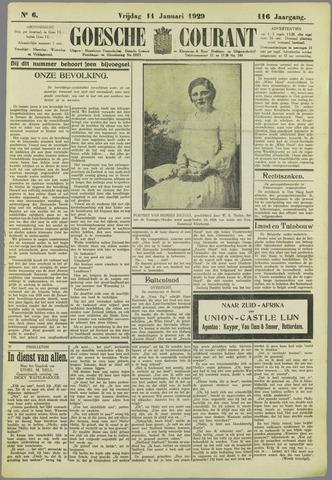 Goessche Courant 1929-01-11