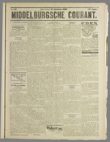 Middelburgsche Courant 1925-10-19
