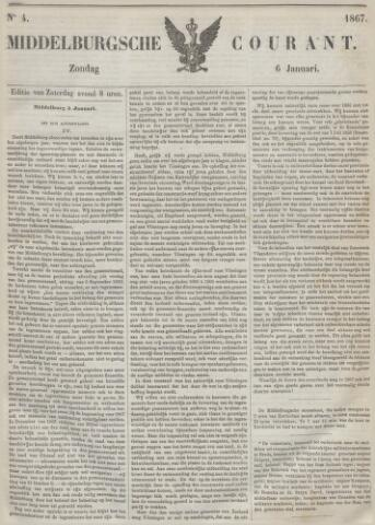 Middelburgsche Courant 1867-01-06