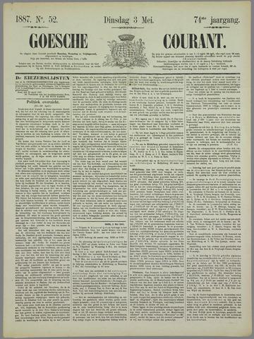 Goessche Courant 1887-05-03