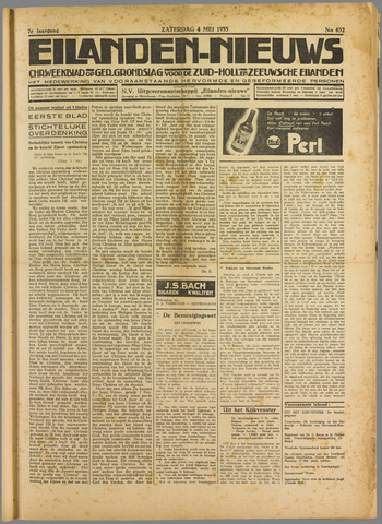 Eilanden-nieuws. Christelijk streekblad op gereformeerde grondslag 1935-05-04