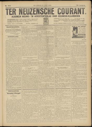 Ter Neuzensche Courant. Algemeen Nieuws- en Advertentieblad voor Zeeuwsch-Vlaanderen / Neuzensche Courant ... (idem) / (Algemeen) nieuws en advertentieblad voor Zeeuwsch-Vlaanderen 1930-07-21