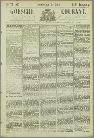 Goessche Courant 1915-06-24