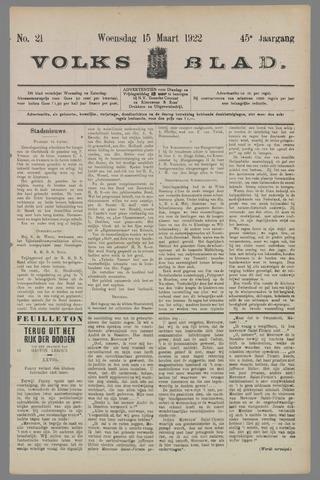 Volksblad 1922-03-15