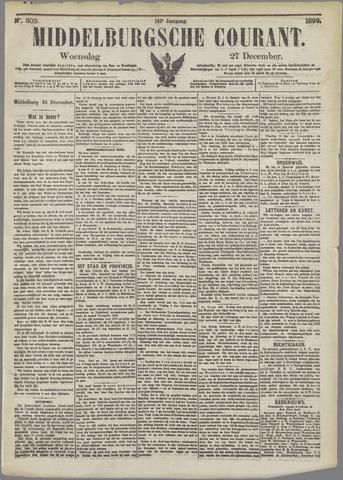 Middelburgsche Courant 1899-12-27