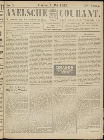 Axelsche Courant 1923-05-04