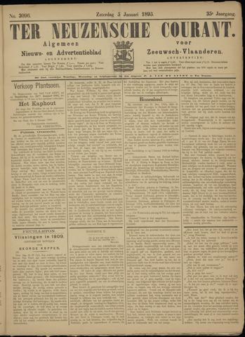 Ter Neuzensche Courant. Algemeen Nieuws- en Advertentieblad voor Zeeuwsch-Vlaanderen / Neuzensche Courant ... (idem) / (Algemeen) nieuws en advertentieblad voor Zeeuwsch-Vlaanderen 1895-01-05
