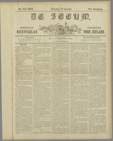 De Zeeuw. Christelijk-historisch nieuwsblad voor Zeeland 1902-01-21