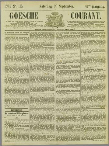 Goessche Courant 1894-09-29